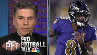 Baltimore Ravens Lamar Jackson trying to ignore hype train | Pro Football Talk | NBC Sports