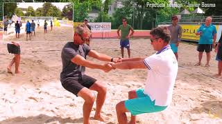 CEV Beach Volleyball Coaching Workshop - Practical Session (Baden 2017)
