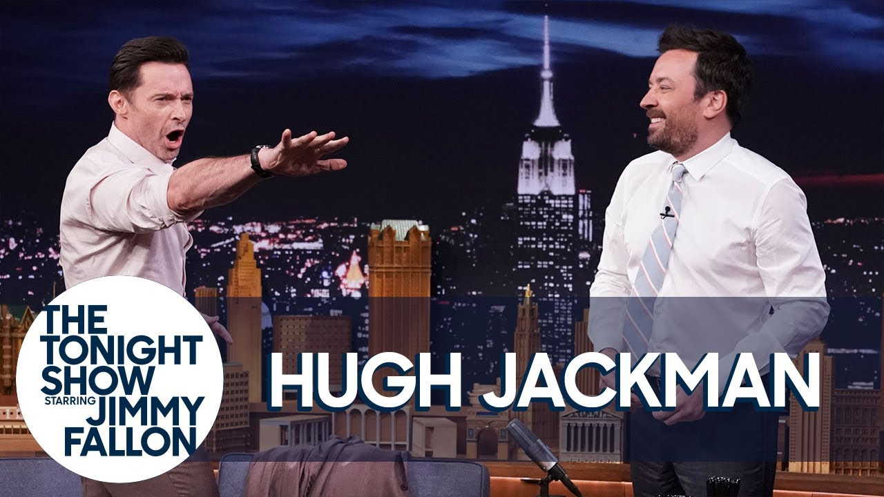 Hugh Jackman and Jimmy Attempt a Guinness World Record thumbnail