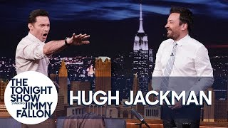Hugh Jackman And Jimmy Attempt A Guinness World Record