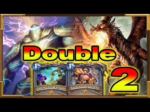 Hearthstone: Double Quest Mage OTK | This Is Crazy Part 2 | Raid the Sky Temple | Descent of Dragons