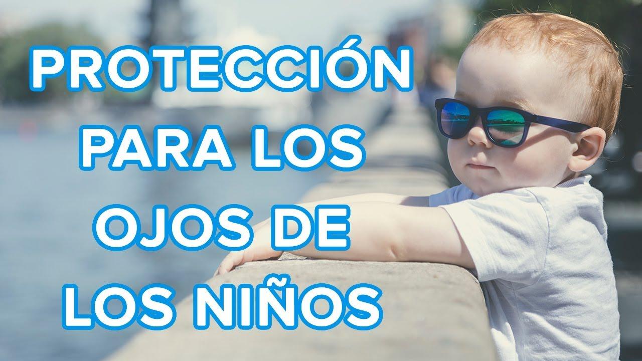 Cómo proteger del sol los ojos de los niños | Gafas de sol para niños ????