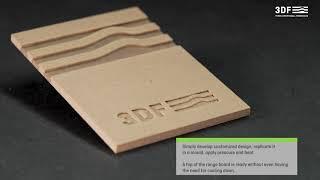 3DF - Three Dimensional Fiberboard