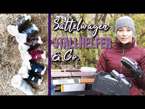RuckZuck - Meine STALLHELFER | Trainingsgamaschen, Sattelwagen und Co. | BinieBo