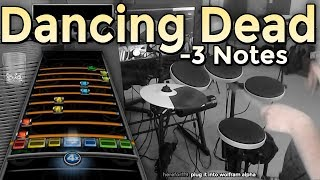 Avenged Sevenfold - Dancing Dead -3 notes (Expert Drums Adv Phase Shift)