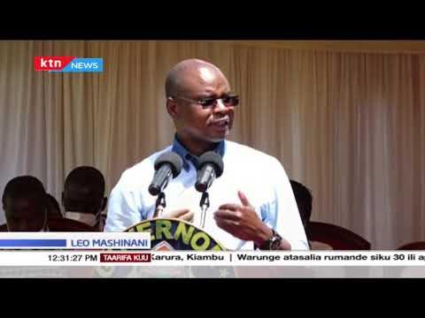 Gavana wa Kilifi Amason Kingi asema mchakato wa kutafuta chama cha Pwani umekamilika