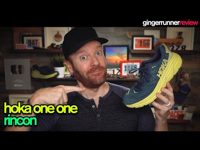 HOKA ONE ONE RINCON REVIEW   The Ginger Runner