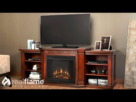 Real Flame - Valmont - Entertainment Mantel