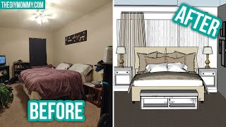 STYLING MY SUBS SPACES! Lindsays Cozy, Neutral Bedroom VIRTUAL MAKEOVER