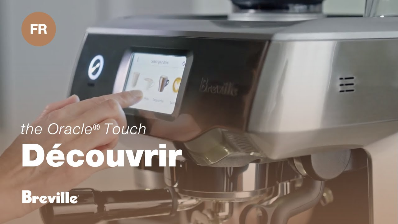 Oracle® Touch - La machine à espresso