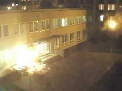 Nightfall at Purkynovy koleje - time lapse