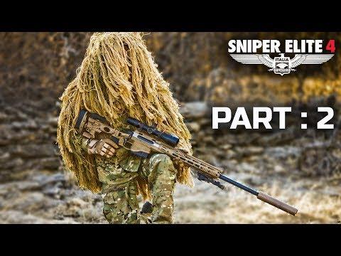 Sniper Elite 4 Best Moments Part 2 | Twenty Minutes Intense Gameplay | हिंदी में