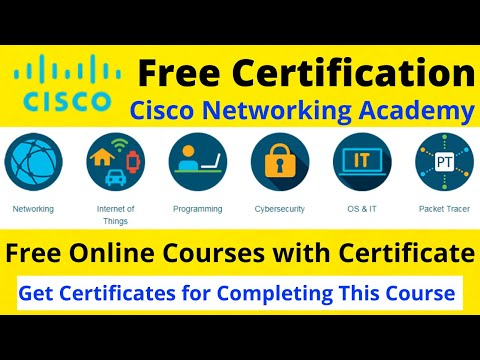 Free Cisco Certifications Courses | 100% Discount in Networking Courses | #CiscoNetworkingAcademy