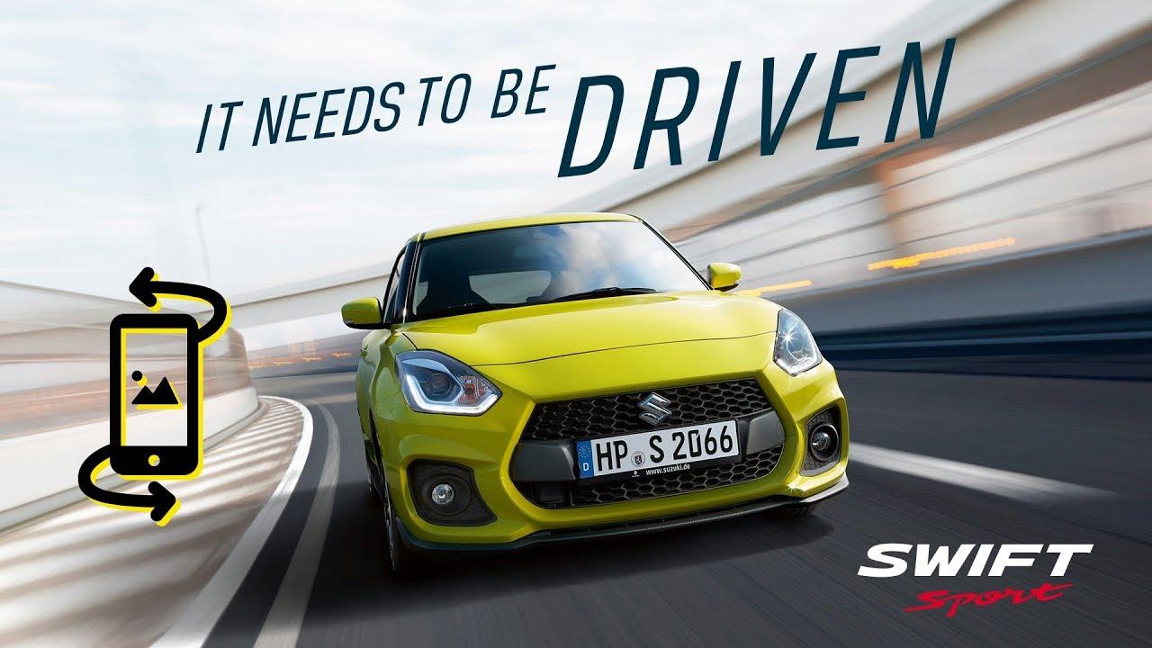 Suzuki Swift Sport – Die 360 Grad Testfahrt mit Niki Schelle