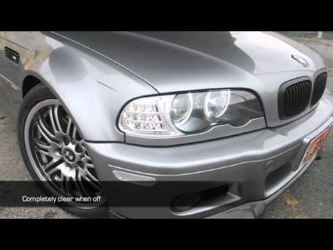 LED Turn Signal Housings for the E46 Coupe