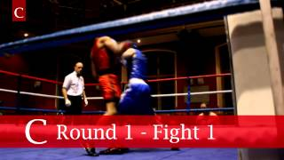 preview picture of video 'Town v Gown Boxing at the Oxford Union 2014'