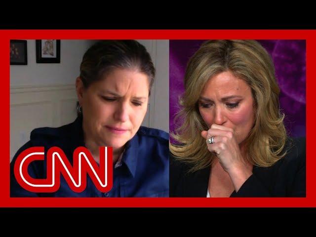 Daughter's heartbreaking story brings Brooke Baldwin to tears
