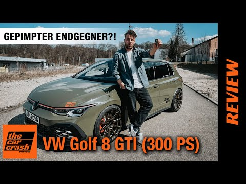 2021 VW Golf 8 GTI (300 PS) Auf Endgegner gepimpt?! 🤯🏴 Fahrbericht | Review | Test | 100-200 KM/H