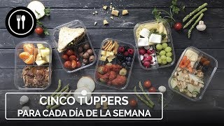 Cinco recetas de tupper para llevar al trabajo una semana entera sin encender un fogón | DAP