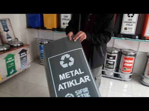 Sıfır Atık Projesi Metal Atık Kutusu Kurulumu
