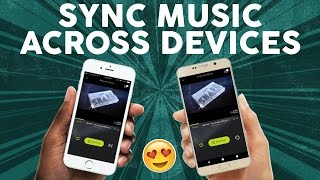 Play Same Music On Multiple Devices! | AmpMe Review