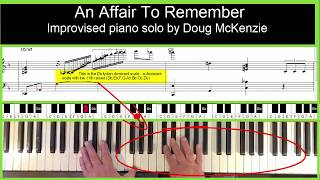 An Affair To Remember - jazz piano tutorial