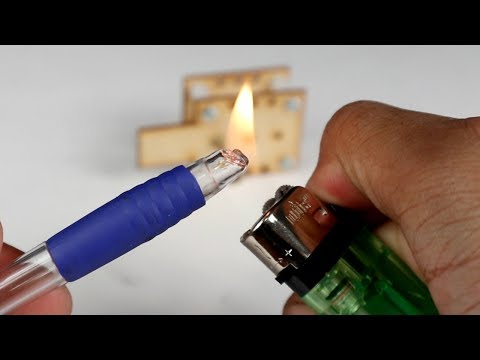 How To Make a Screwdriver From a Pen