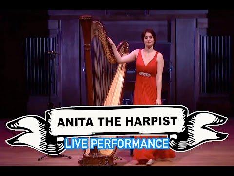 Anita The Harpist Video