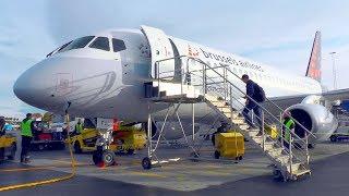 TRIP REPORT | Brussels Airlines (CityJet) Sukhoi Superjet 100 | Stockholm Bromma - Brussels