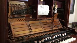 Concert Variations on The Star Spangled Banner played on the Melville Clark player reed organ
