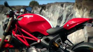 2012 Ducati Monster 1100 EVO official video