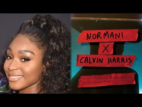 """Normani & Calvin Harris Drop 2-Track EP With """"Checklist"""" & """"Slow Down"""""""