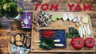 Рецепт Том Яма | Суп Том Ям