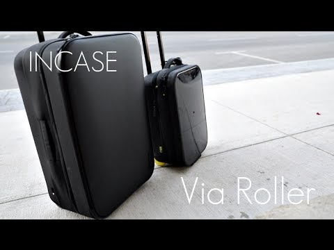 A Giant Tech Style Luggage Roller! – Incase Via Roller – Review / Demo