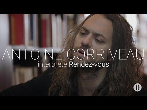 Antoine Corriveau joue et raconte «Rendez-vous»