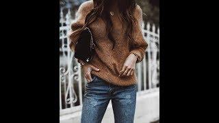Chic Oversized fall sweater