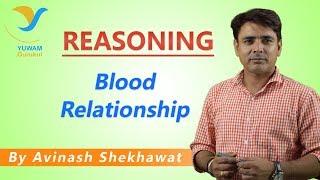 Blood Relationship | Yuwam Online Class | Reasoning by Avinash Shekhawat | Yuwam Gurukul