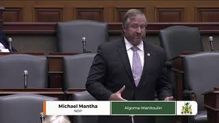 MPP Mantha on Bill 156, risk management, broadband and long-term care