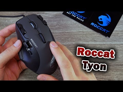 Roccat Tyon 🎮Geile Shooter Maus / Einrichtung + Erster Eindruck [Deutsch] 4K