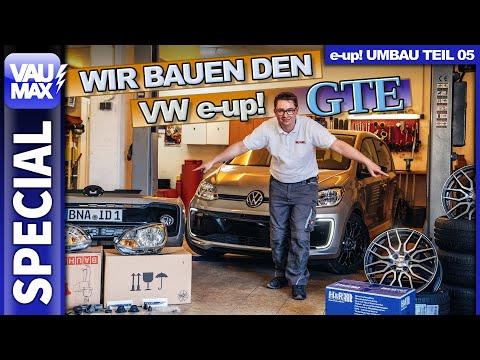 VW e-up! GTE - Endlich bauen wir ihn