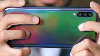 Смартфон Samsung Galaxy A70 2019 SM-A7050 6/128GB Blue от компании Cthp - видео 3