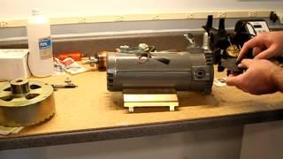 Repairing A Noisy Landice L7 Treadmill Motor (Baldor Brand)