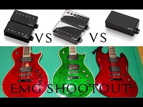 EMG 57 vs EMG 81 Comparison (Metal) - смотреть онлайн на Hah Life
