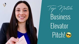 4 Examples To Create Your Business Elevator Pitch
