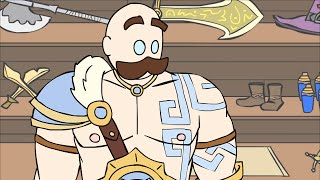 LoL Animated 2 - Ep 13: Shopping With Braum [Interactive Compilation]