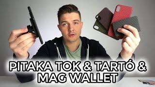 A legjobb kiegészítők iPhone-hoz! Pitaka tok, autós tartó és MagWaller