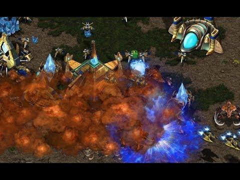 Heffy (P) v InControl (Z) on Fighting Spirit - StarCraft  - Brood War REMASTERED