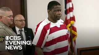"""The highest criminal court in Texas halted the execution of inmate Rodney Reed. He was scheduled to die in five days for a 1996 rape and murder. But new evidence raised questions about the case.  Subscribe to the """"CBS Evening News"""" Channel HERE: http://bit.ly/1S7Dhik Watch Full Episodes of the """"CBS Evening News"""" HERE: http://cbsn.ws/23XekKA Watch the latest installment of """"On the Road,"""" only on the """"CBS Evening News,"""" HERE: http://cbsn.ws/23XwqMH Follow """"CBS Evening News"""" on Instagram: http://bit.ly/1T8icTO Like """"CBS Evening News"""" on Facebook HERE: http://on.fb.me/1KxYobb Follow the """"CBS Evening News"""" on Twitter HERE: http://bit.ly/1O3dTTe Follow the """"CBS Evening News"""" on Google+ HERE: http://bit.ly/1Qs0aam  Get your news on the go! Download CBS News mobile apps HERE: http://cbsn.ws/1Xb1WC8  Get new episodes of shows you love across devices the next day, stream local news live, and watch full seasons of CBS fan favorites anytime, anywhere with CBS All Access. Try it free! http://bit.ly/1OQA29B  --- The """"CBS Evening News"""" premiered as a half-hour broadcast on Sept. 2, 1963. Check local listings for CBS Evening News broadcast times."""