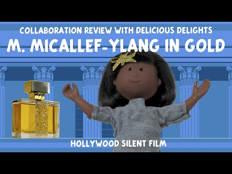 M Micallef – Ylang in Gold – Perfume Review Collaboration