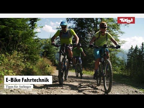 E-Bike Fahrtechnik für Anfänger   Tipps für das E-Biken am Berg